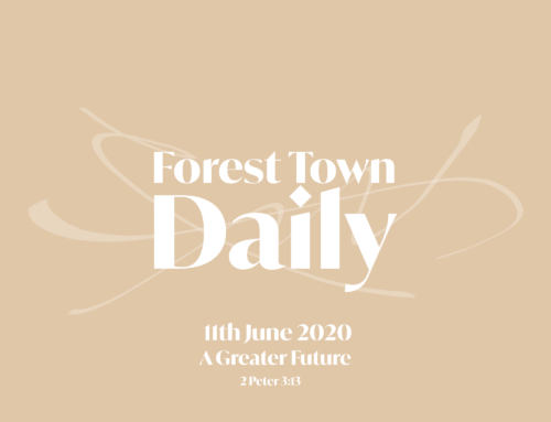 Forest Town Daily – A Greater Future